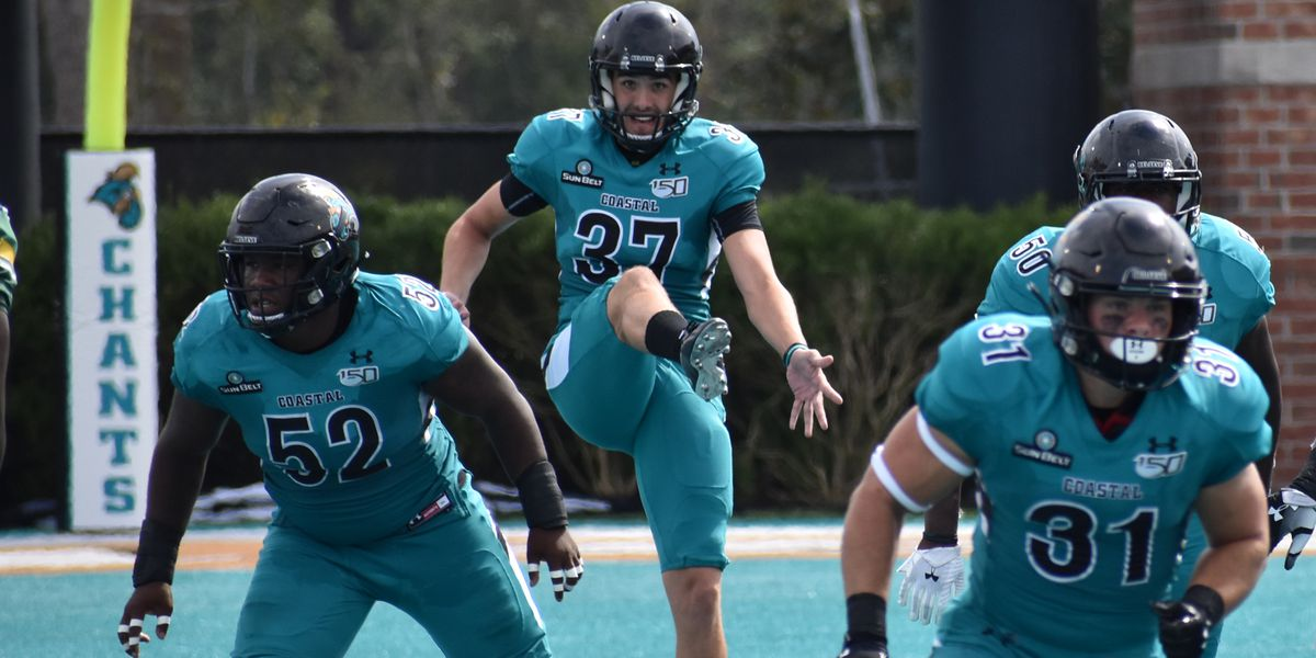 Ccu Christmas Concert 2020 CCU punter Myles Prosser added to Ray Guy Award watch list for 2020