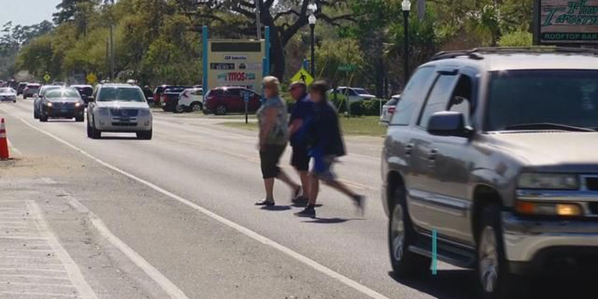 Businesses donate $6,700 to have crosswalks and street signs installed in MarshWalk area