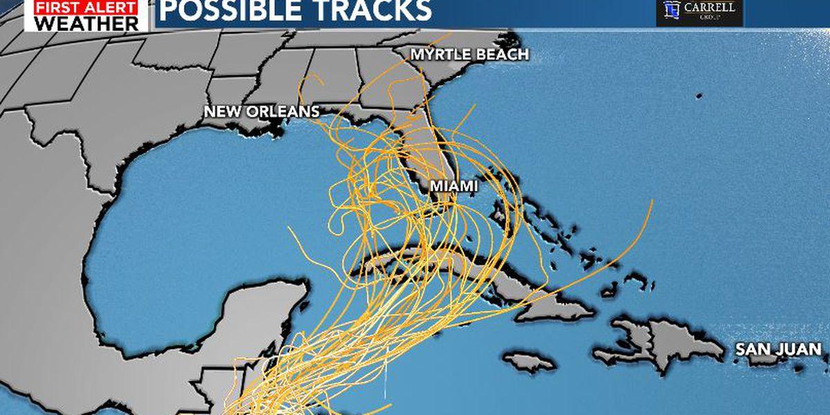 FIRST ALERT: Eta is now a tropical storm, may eventually threaten Florida