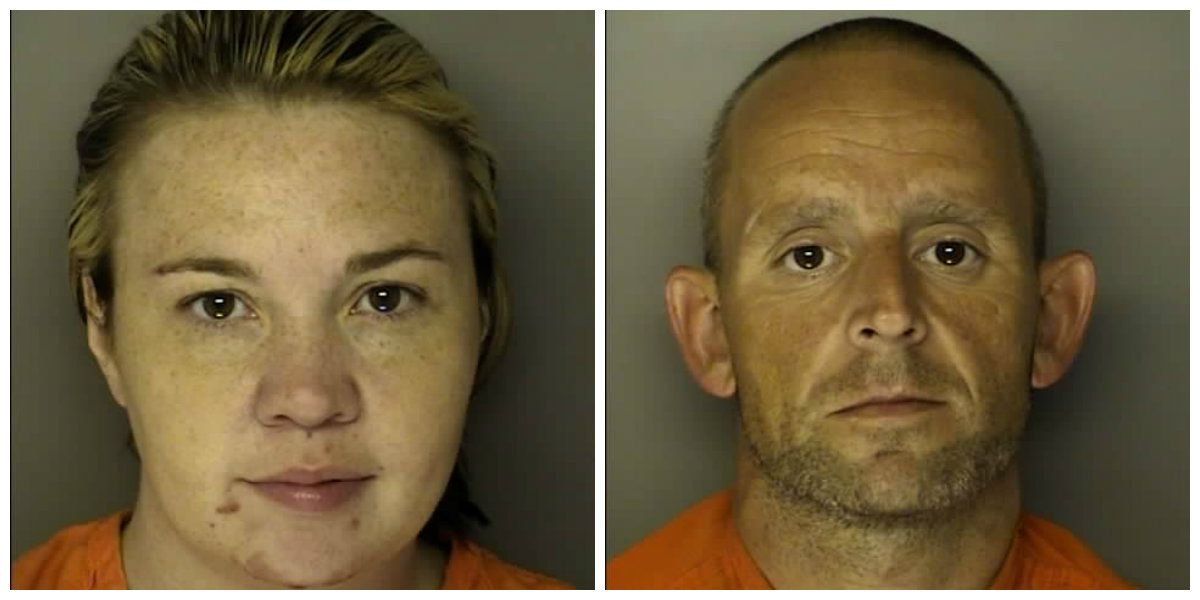 Two charged after heroin, meth, gun, over $5K in cash seized in Horry County drug bust
