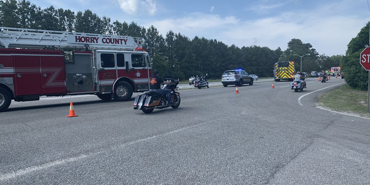 TRAFFIC ALERT: Crash involving motorcycle blocks lane on Kings Highway
