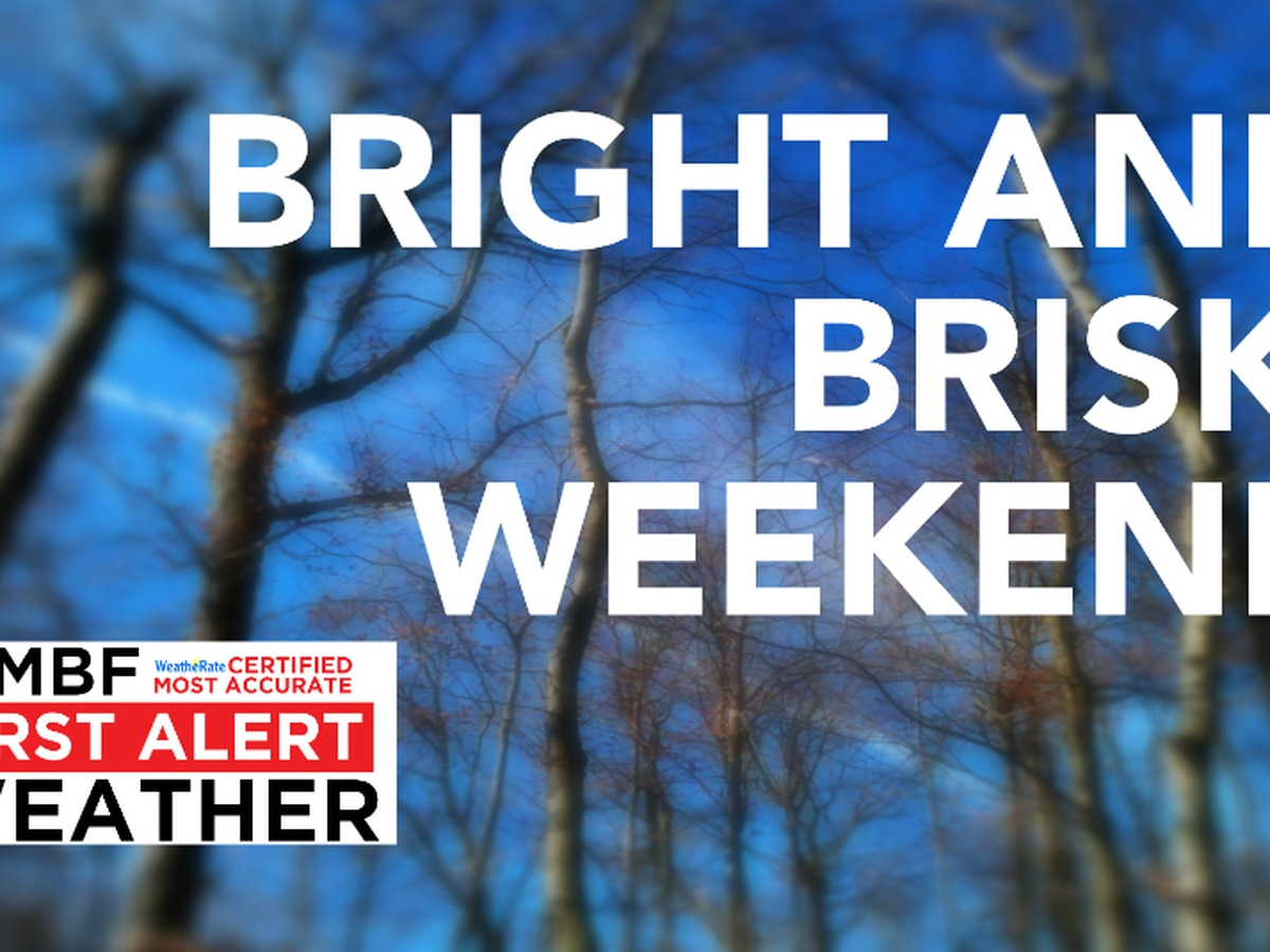 FIRST ALERT: Bright and brisk weekend