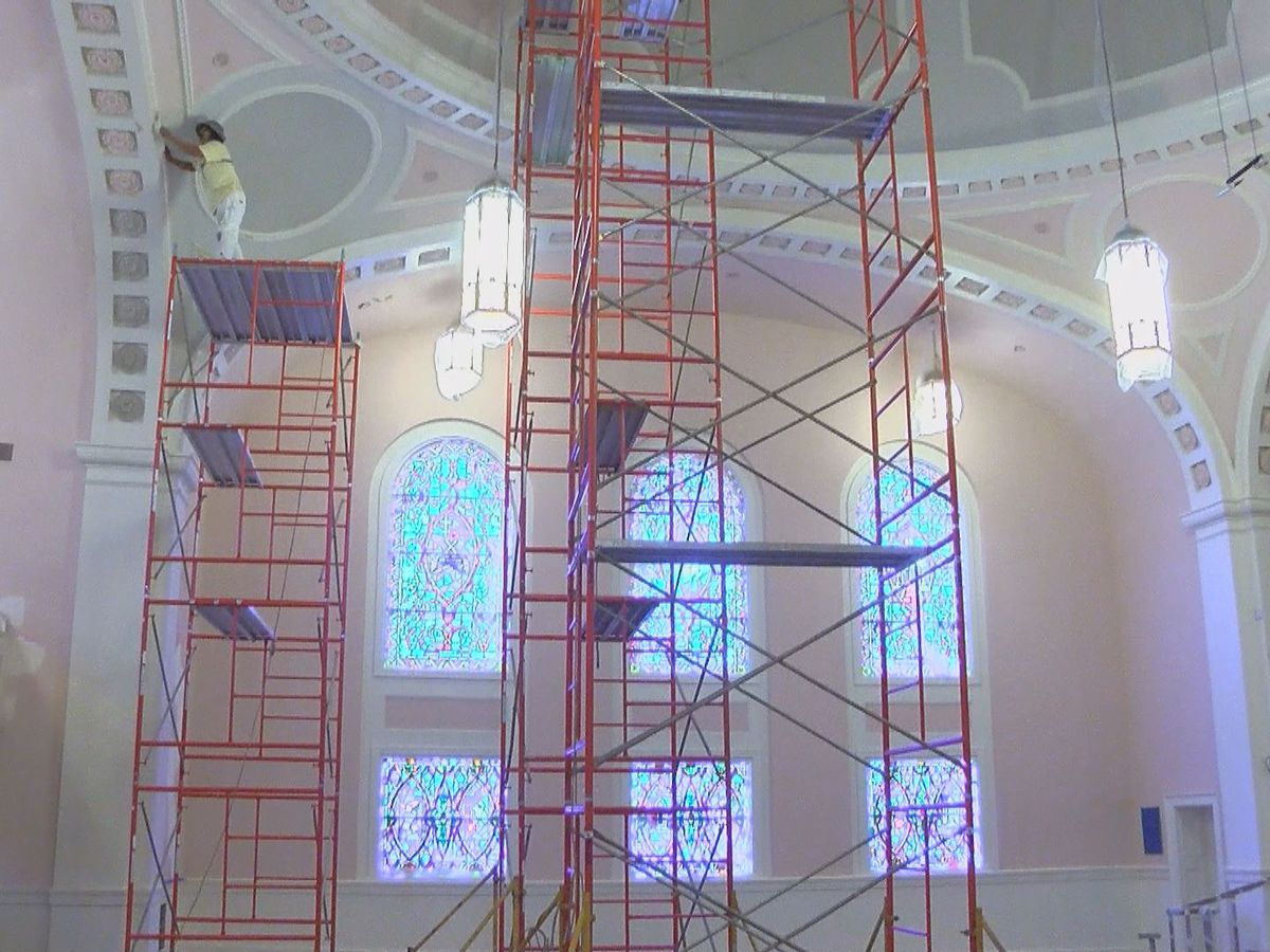 Historic church in downtown Florence undergoes renovations