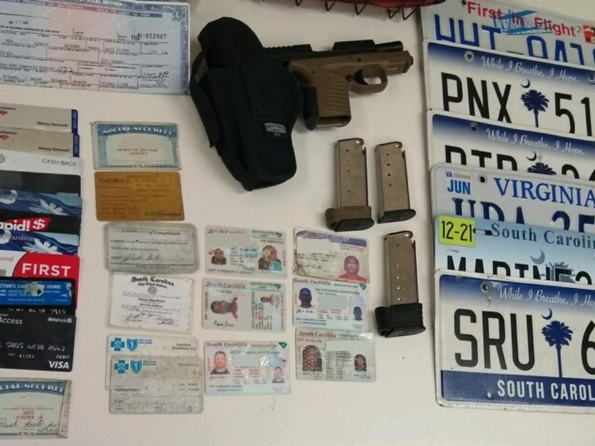 Darlington County deputy finds stolen gun, IDs, birth certificates during traffic stop
