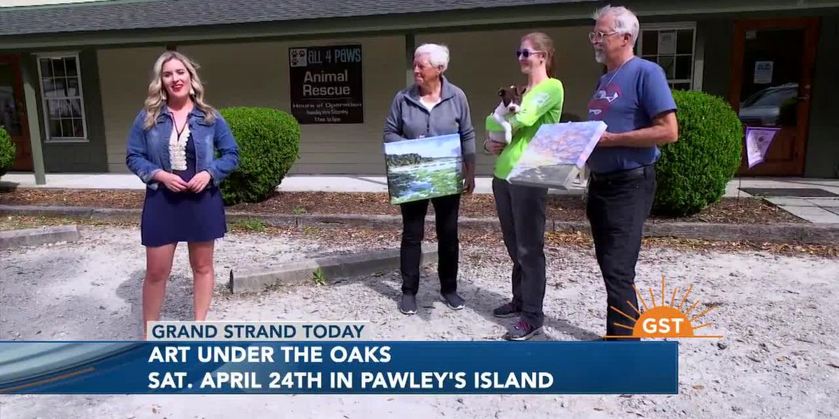 Art Under the Oaks to benefit All 4 Paws