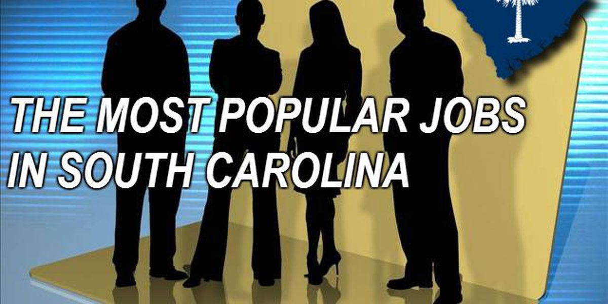 Top 50 most popular jobs in South Carolina