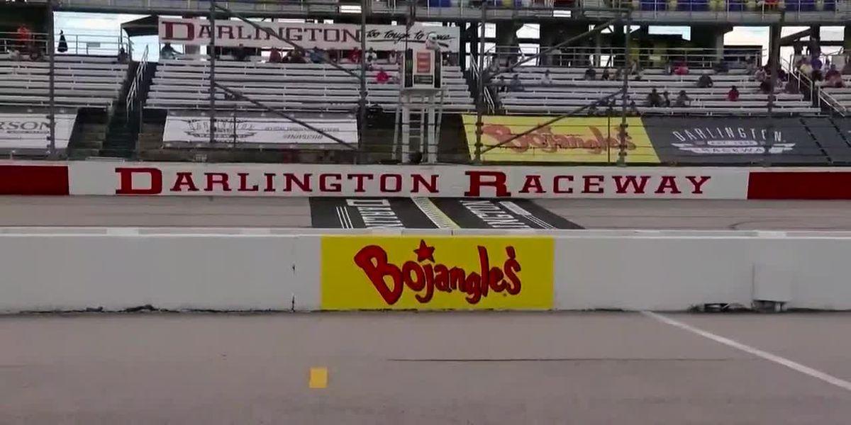 Heavy rain puts the brakes on NASCAR Xfinity race at Darlington Raceway