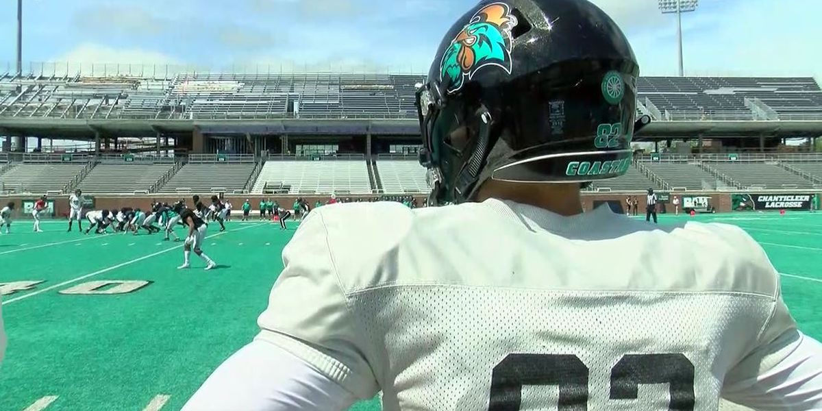 Coastal Football: Chadwell preaches togetherness during spring game debut