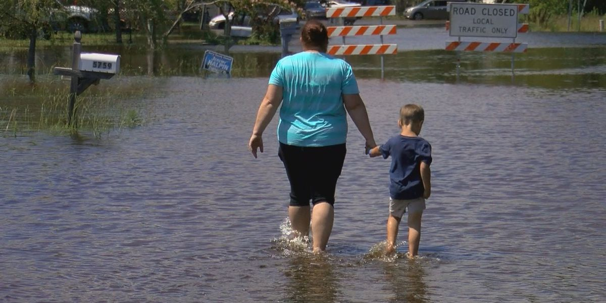 'I am just so over it': Rosewood residents dealing with flooding yet again
