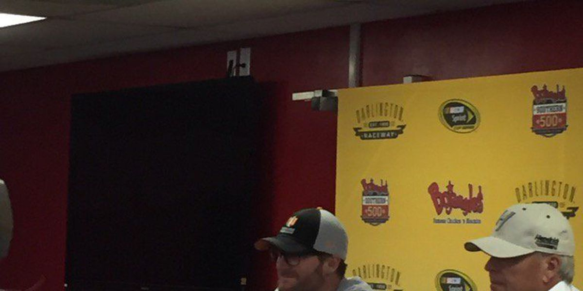 """Earnhardt Jr: """"The only thing I can't do is get in a car and race"""""""