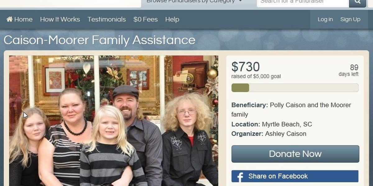 Murder suspects' fundraiser page removed by YouCaring.com