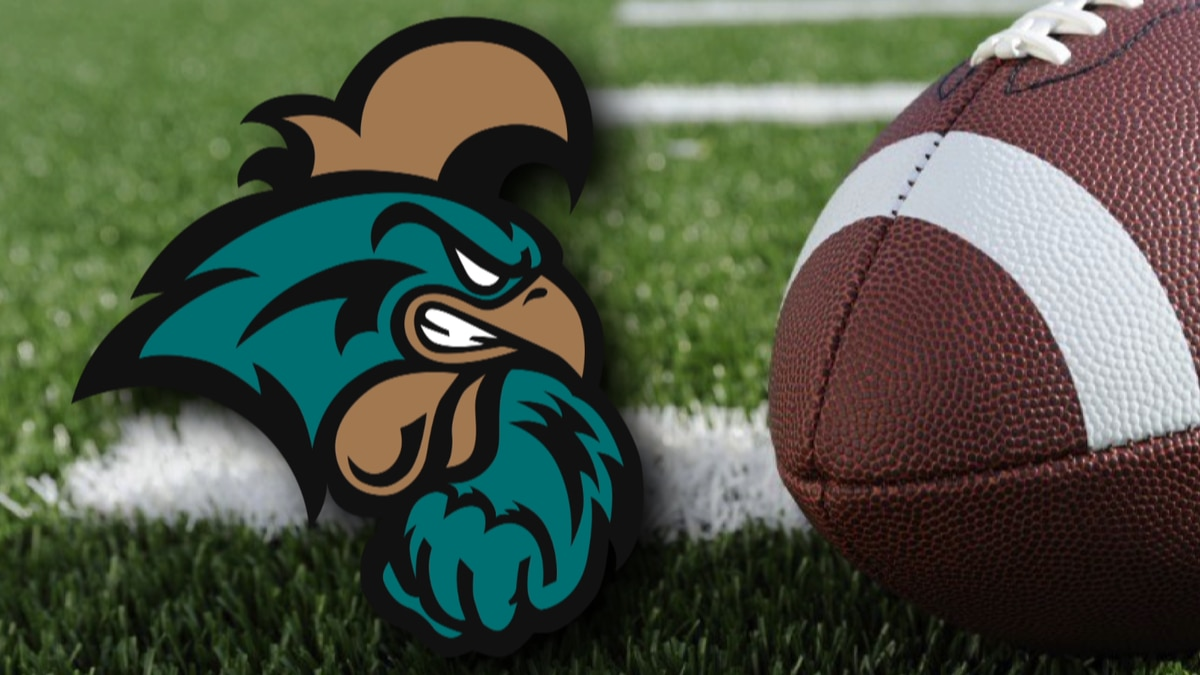 CCU releases 2021 football schedule