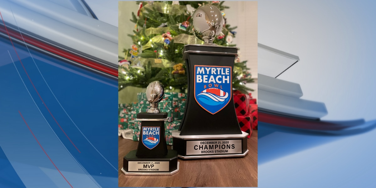 Myrtle Beach Bowl reveals trophy ahead of inaugural game