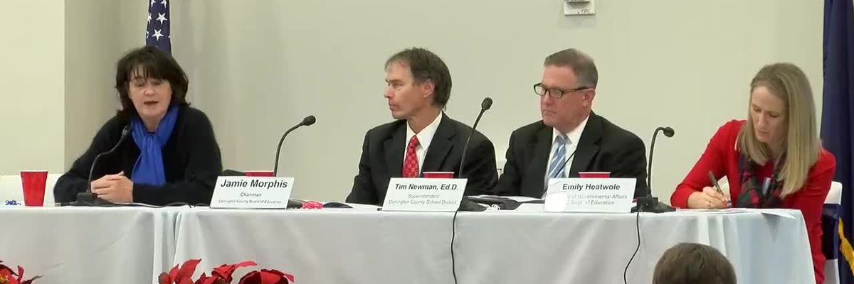 Darlington County education forum held