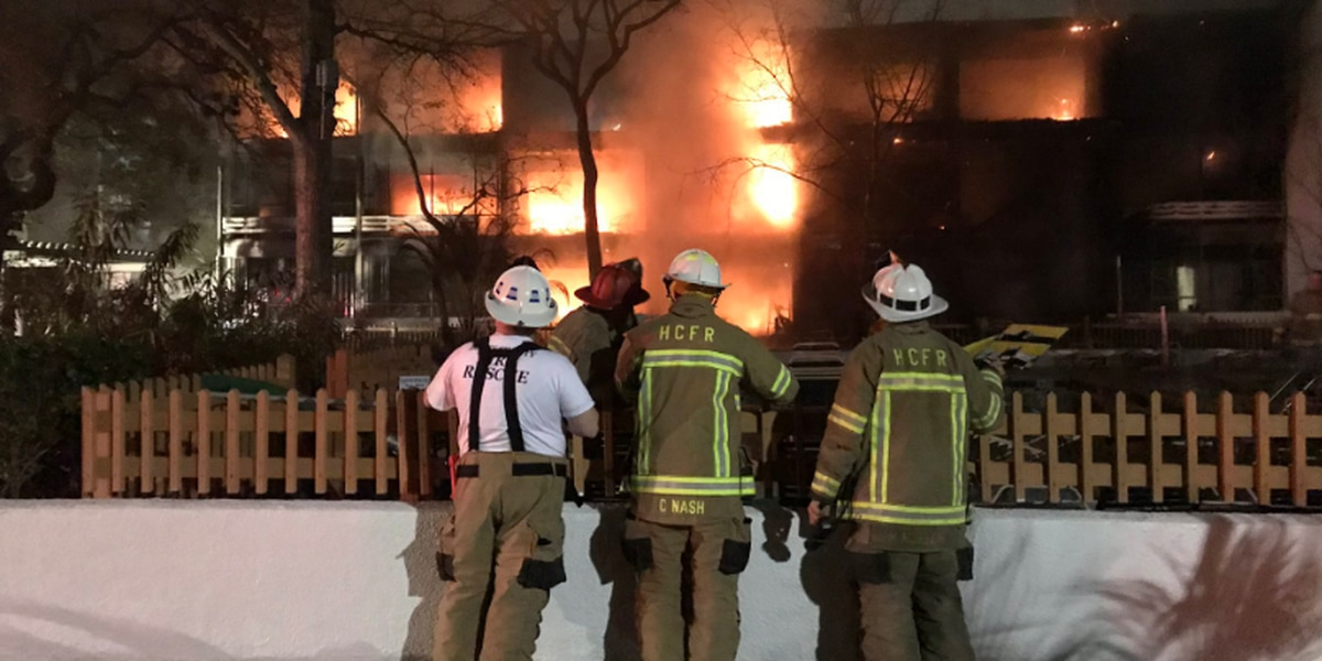 21 units impacted by multi-alarm fire in North Myrtle Beach, firefighters say