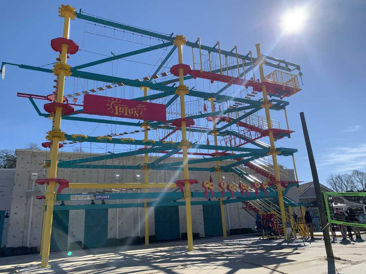 LuLu's in North Myrtle Beach opens new ropes course, arcade
