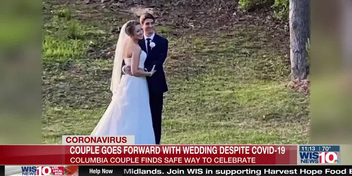 S.C. couple ties the knot with family and friends watching live on Facebook