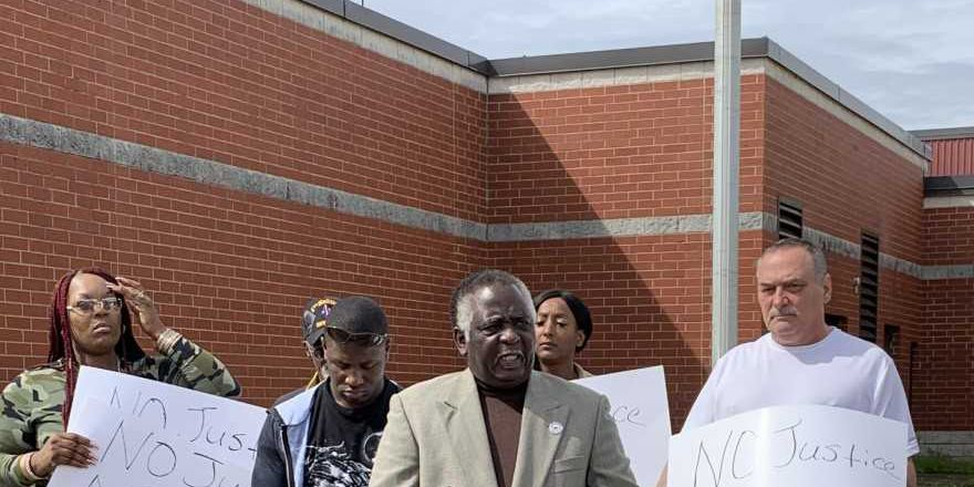 'No Justice No Peace:' Group demands action after alleging Florence County deputies used excessive force