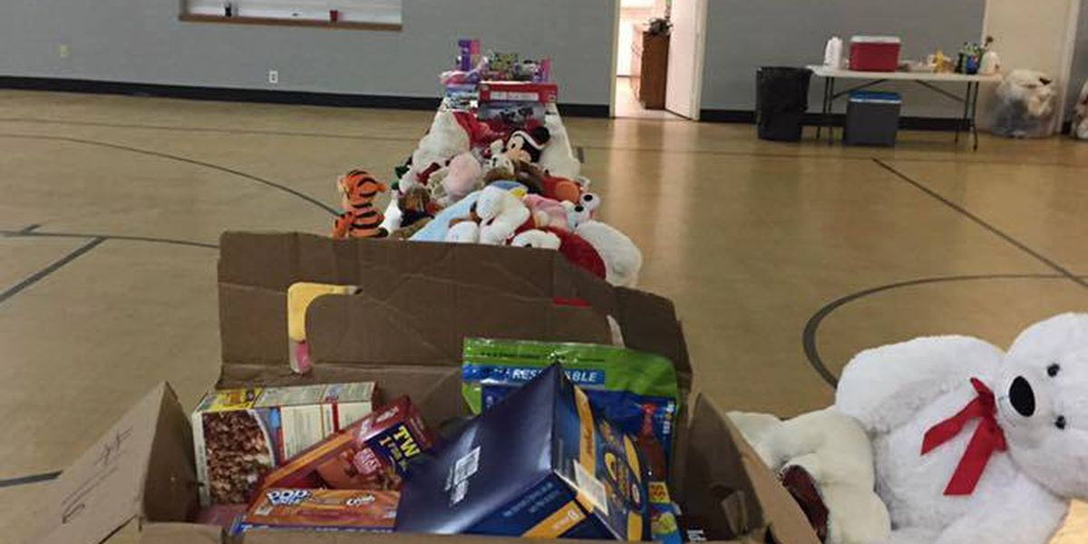 Darlington Police, Fire Department donated toys to less fortunate families Christmas Eve