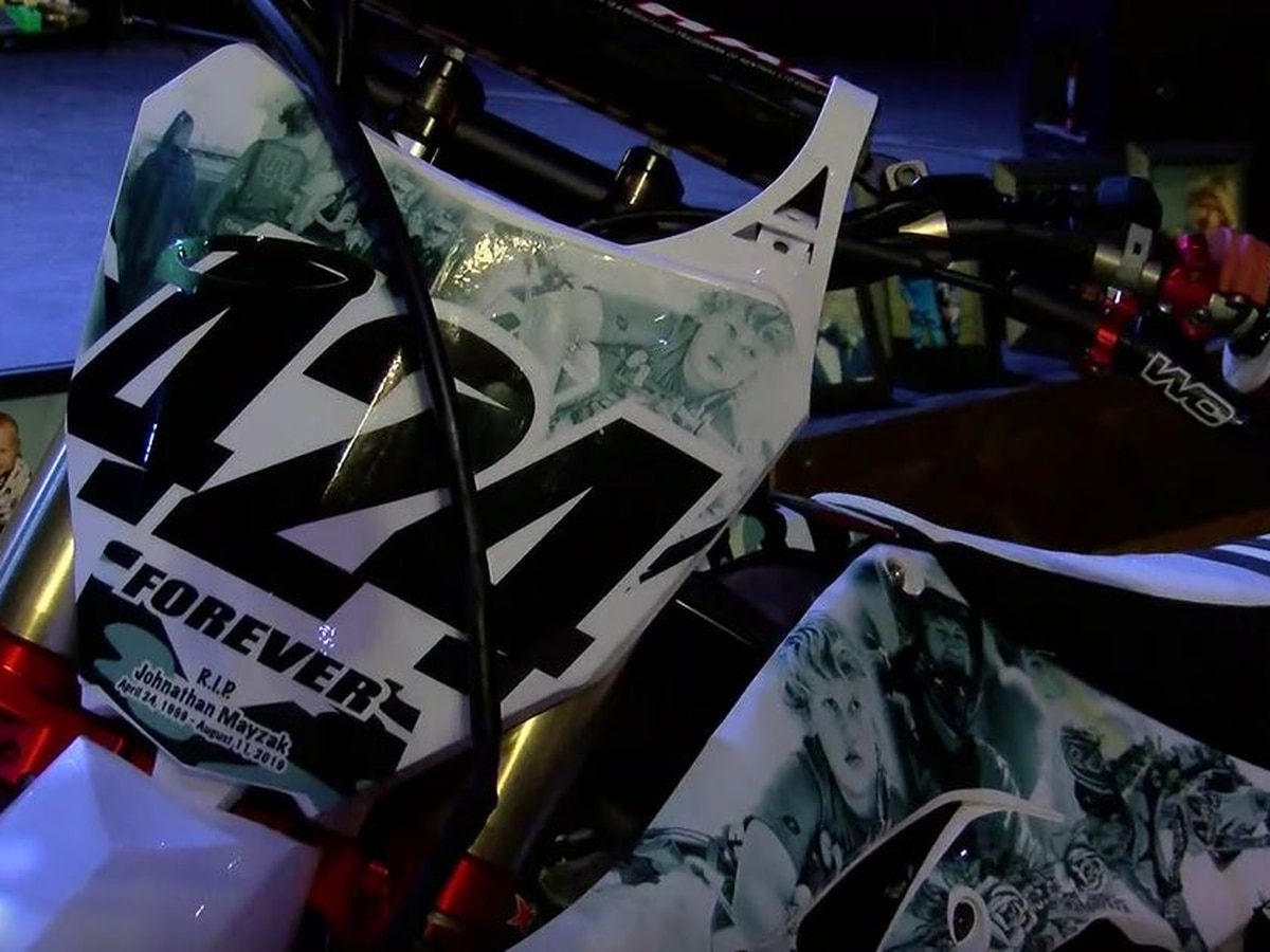 Motocross community coming together to honor fallen rider and friend Jonathan Mayzak