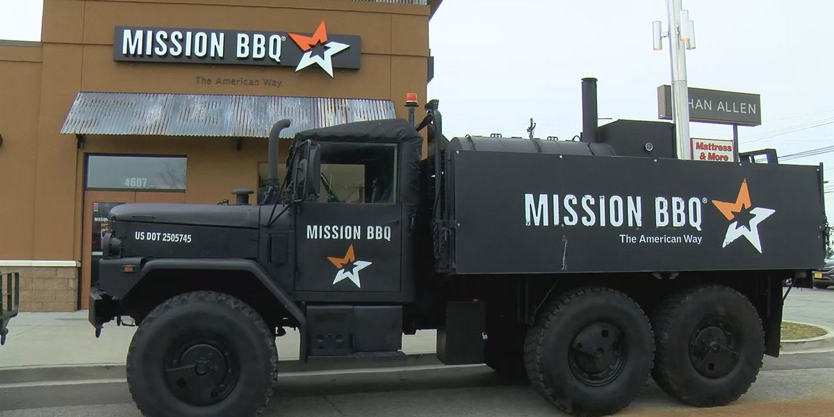 Mission BBQ offering free sandwich to military members