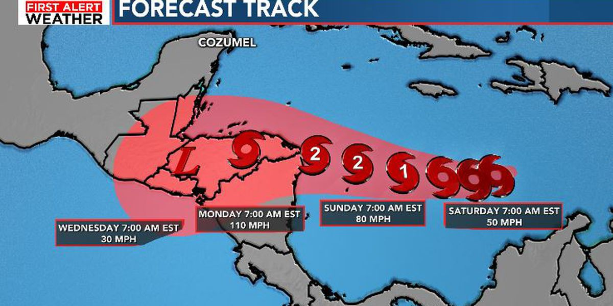 FIRST ALERT: Tropical Depression 31 forms, forecast to become hurricane