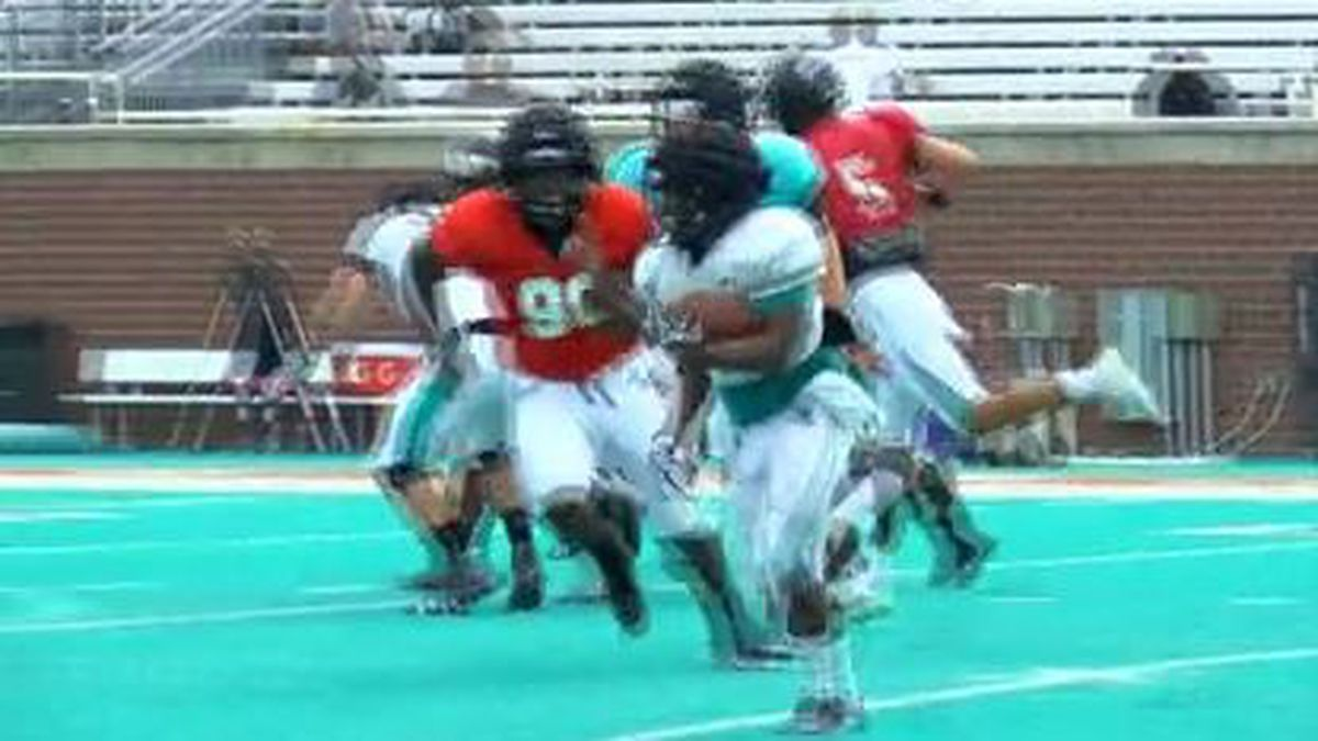 CCU completes pre-season practices with padded scrimmage