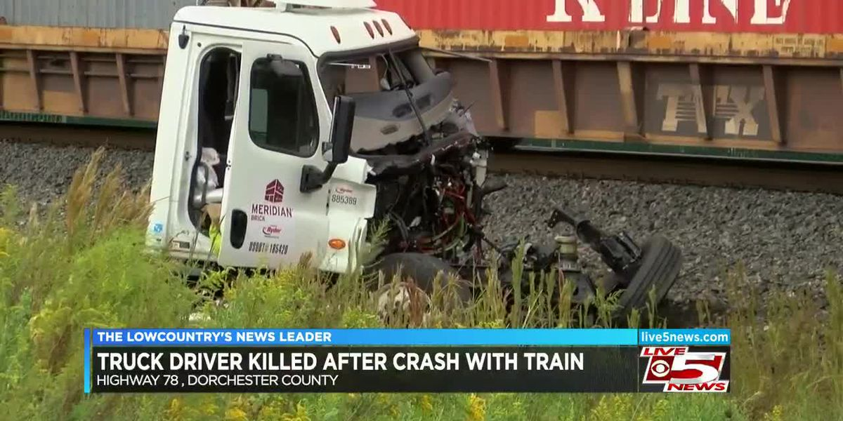 VIDEO: Tractor trailer driver killed in collision with train on Hwy. 78