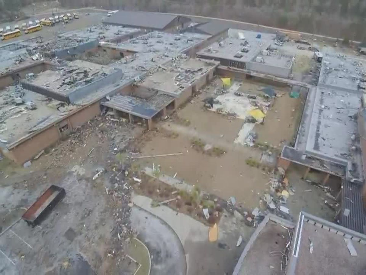 St. James schools holding supply drive to benefit S.C. high school badly damaged by tornado