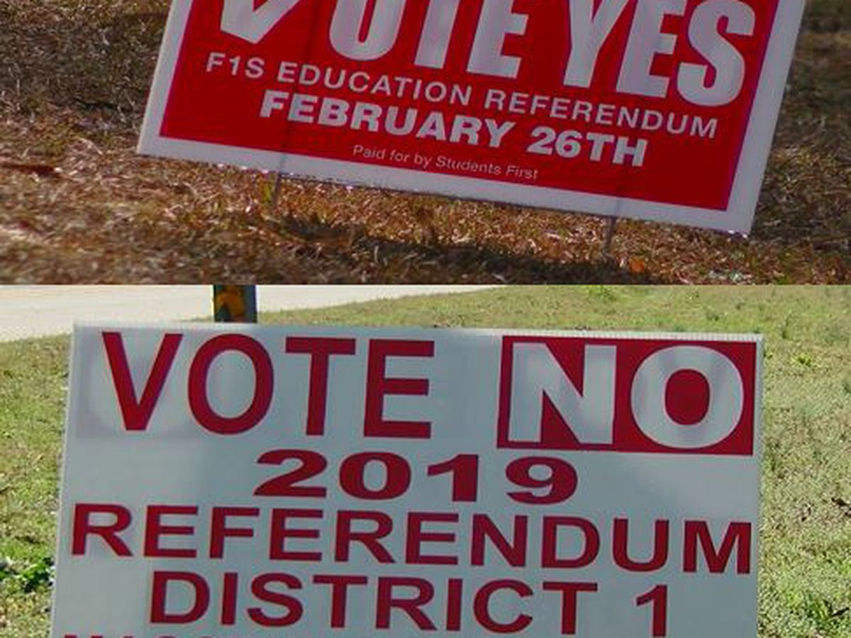 Supporters hold rally for FSD1 $198 million referendum, those opposed speak out