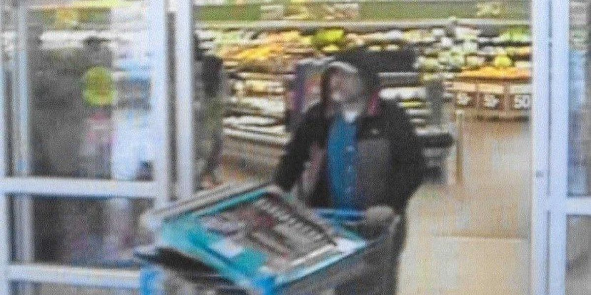 Marion police attempt to identify Walmart fraud suspect