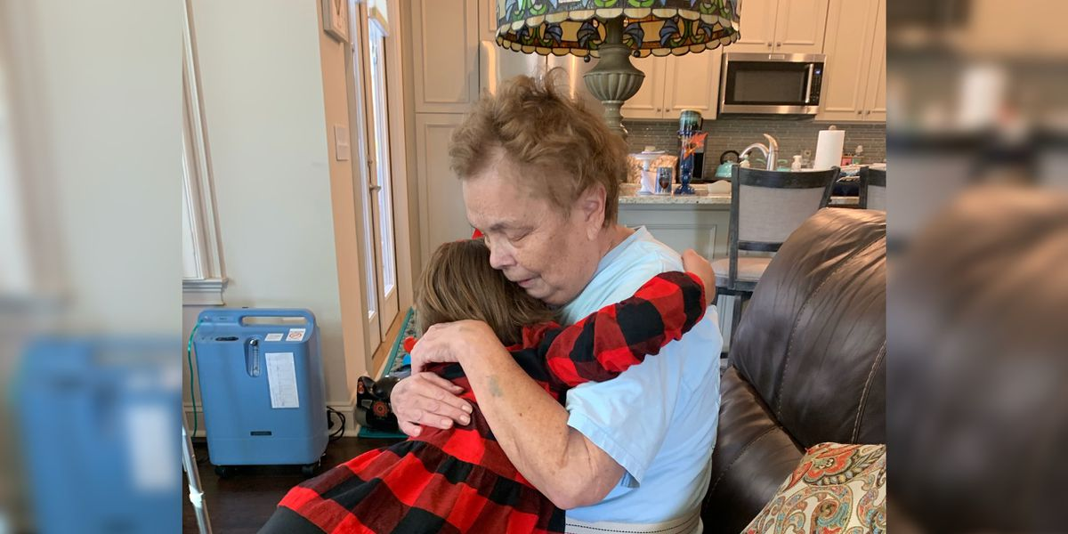 'A Christmas Miracle'; 70-year-old grandmother returns home for holidays after months of battling COVID-19