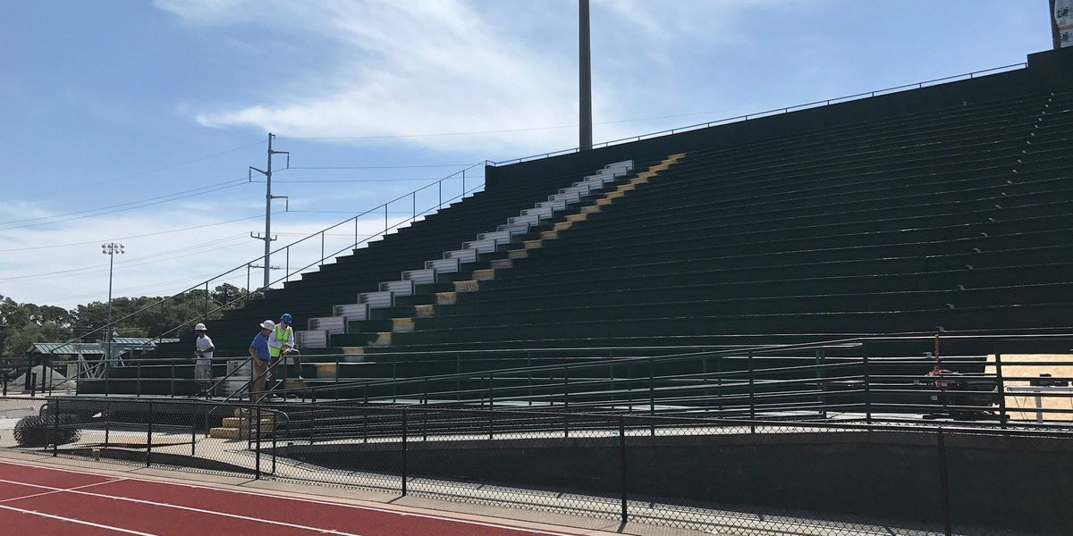 Renovations progressing well at Doug Shaw Memorial Stadium