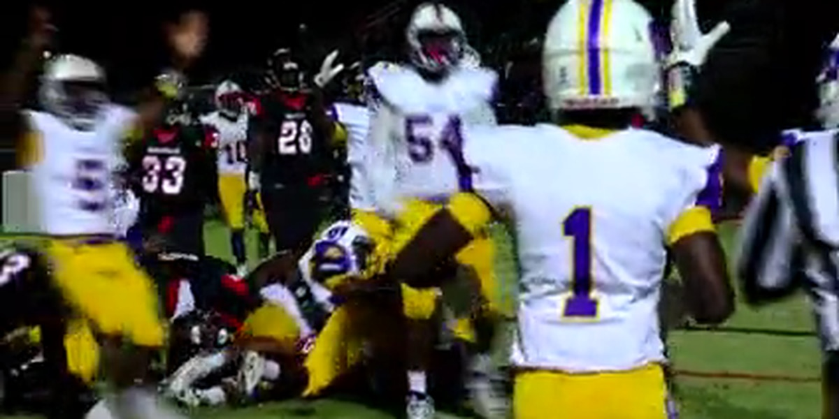 Fight at Hartsville High School Homecoming football game