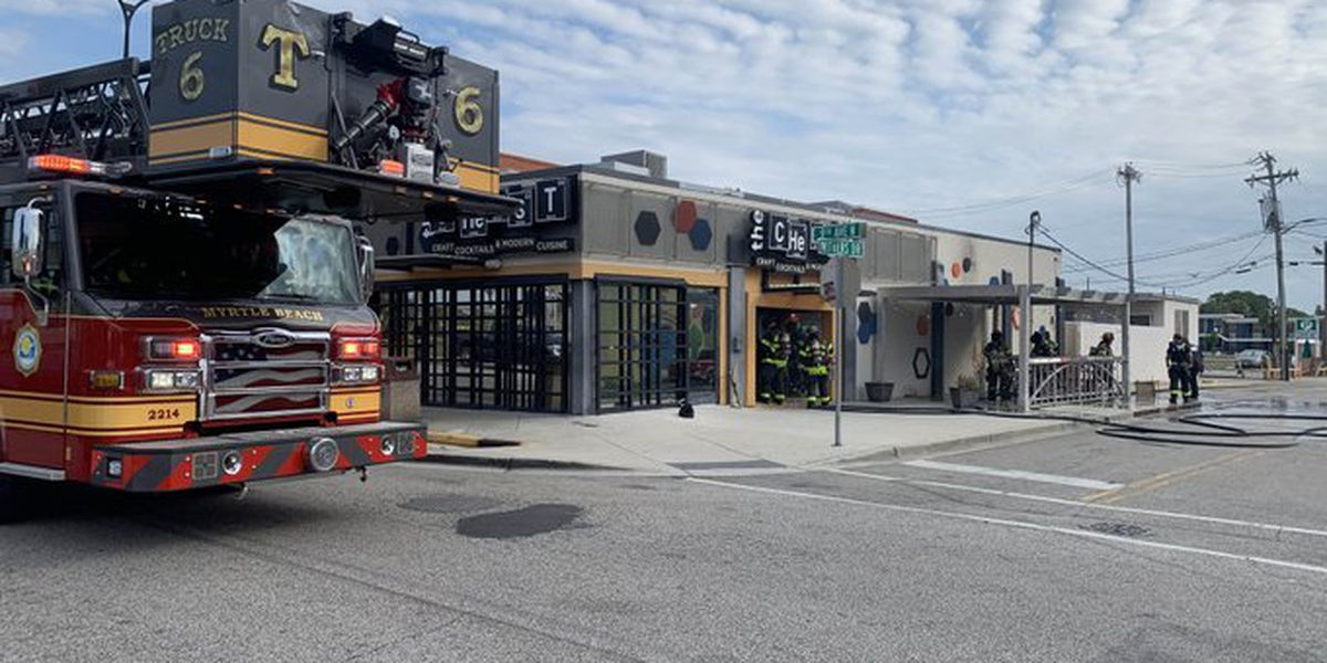 Firefighters respond to restaurant fire in Myrtle Beach