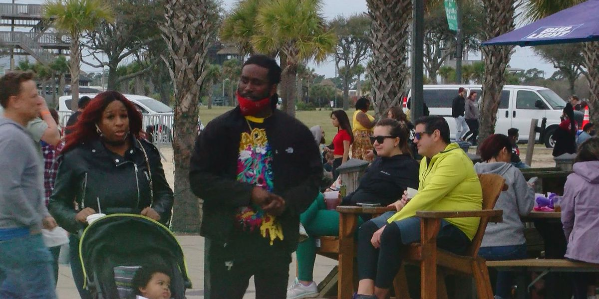 Despite cooler weather, tourists make their way back to the Grand Strand