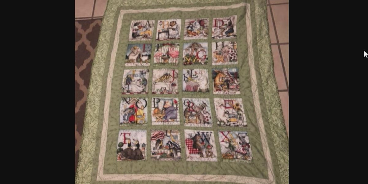 Quilt made by tornado victim travels 10 miles from Ocean Ridge Plantation to Ash
