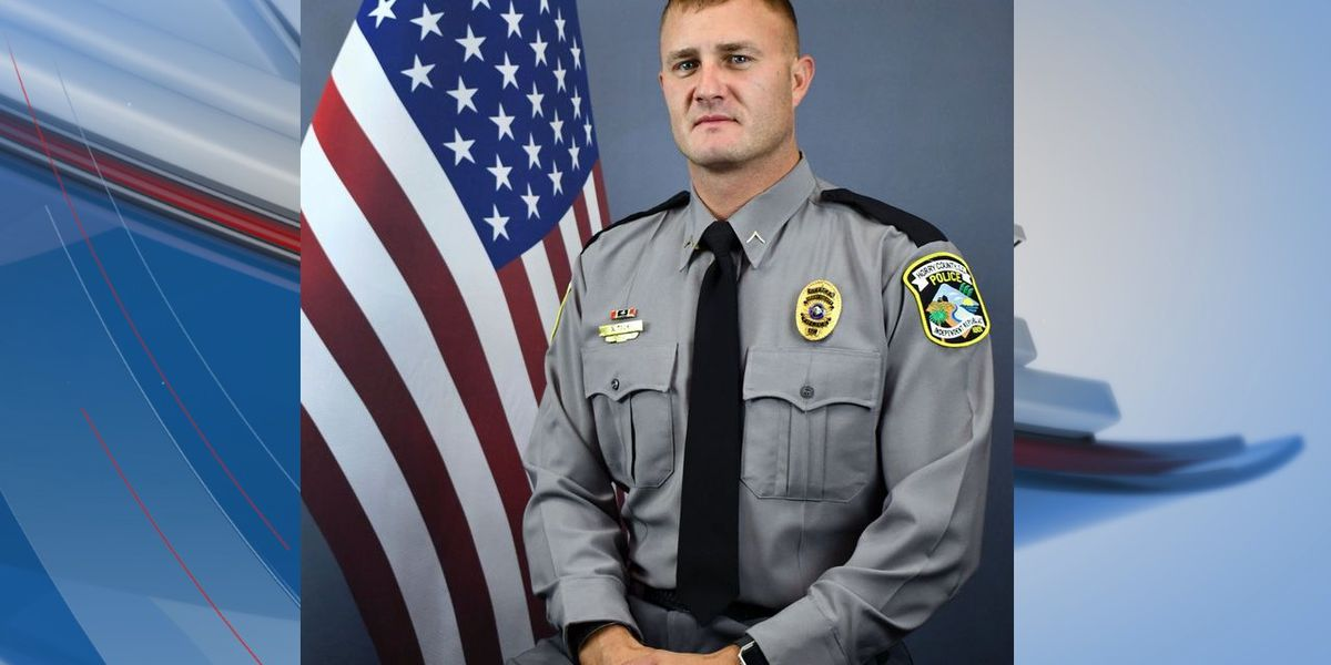'We are beyond proud of you': Horry County officer praised for helping rescue family from submerged SUV