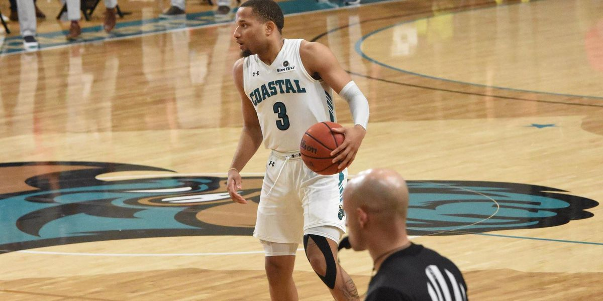Former CCU guard DeVante' Jones transferring to Michigan, will still consider NBA path