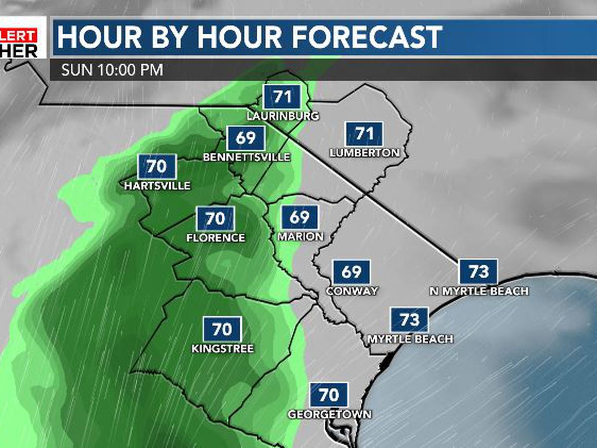FIRST ALERT: Cloudy skies today give way to rain chances for the new work week