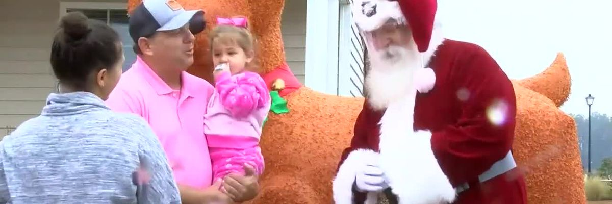 Santa visits Myrtle Beach neighborhoods with fire department
