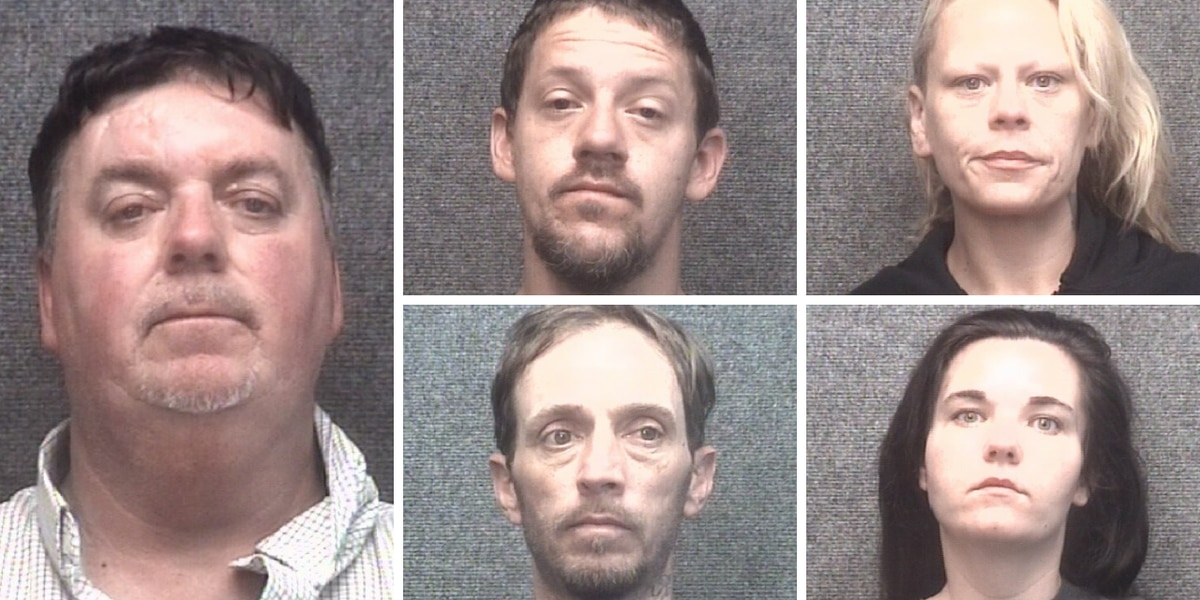 Myrtle Beach police arrest five people connected to suspected theft ring