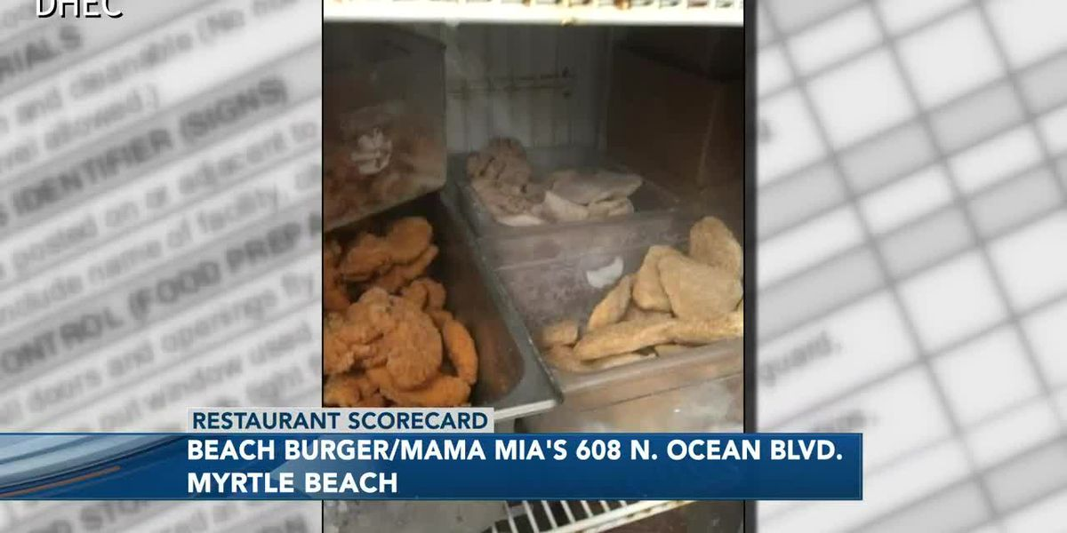 Restaurant Scorecard: Mama Mia there's mildew, build-up, food left uncovered