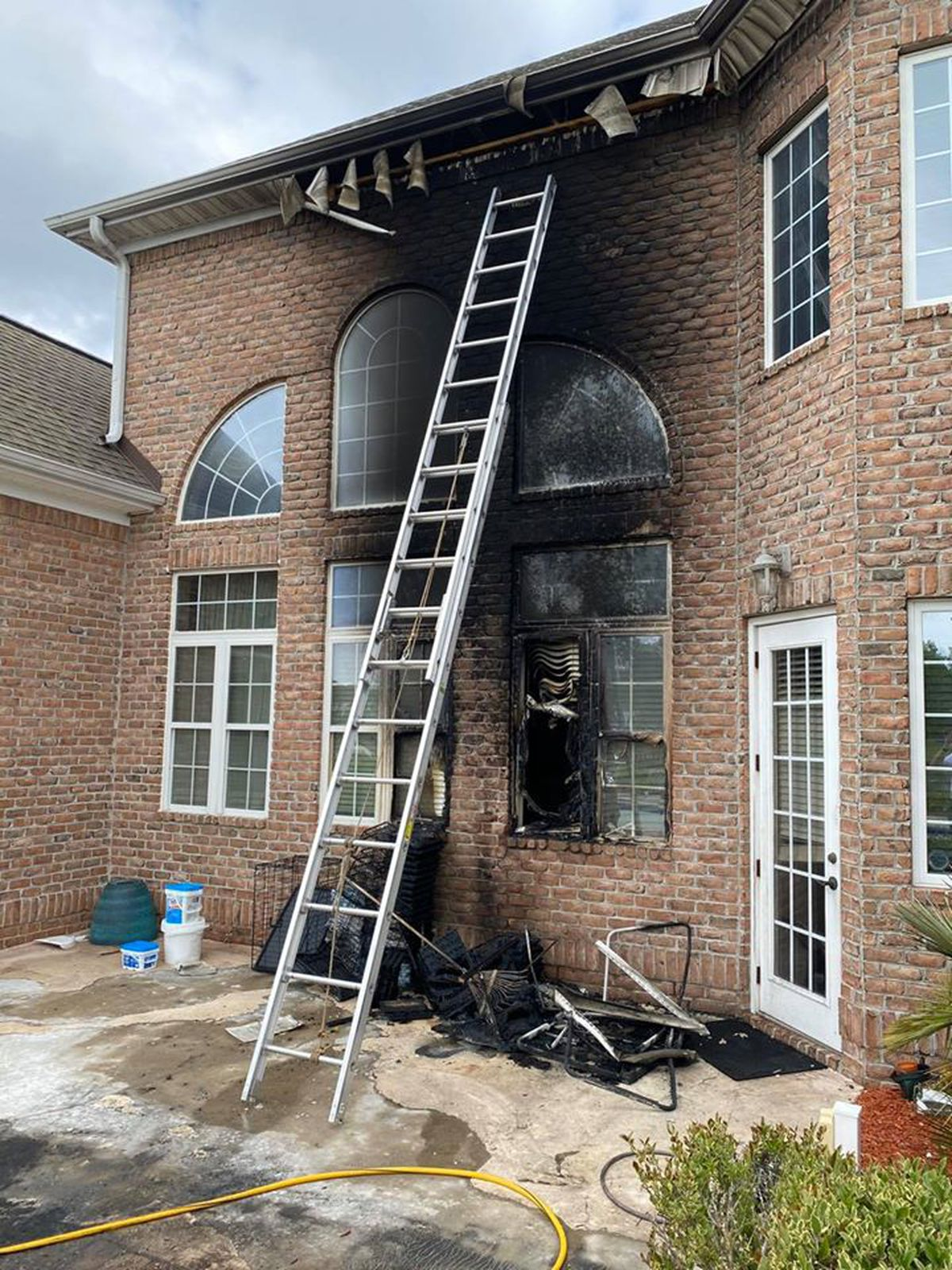 Crews Called To House Fire In Myrtle Beach Area