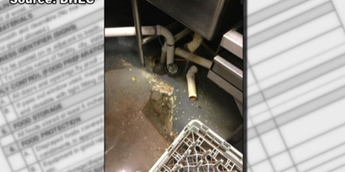 Restaurant Scorecard: Inspectors uncover dirty knives, standing water in popular restaurant