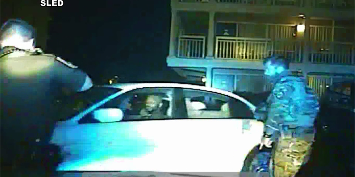 WATCH: SLED releases dash-cam video showing fatal officer-involved shooting in Myrtle Beach