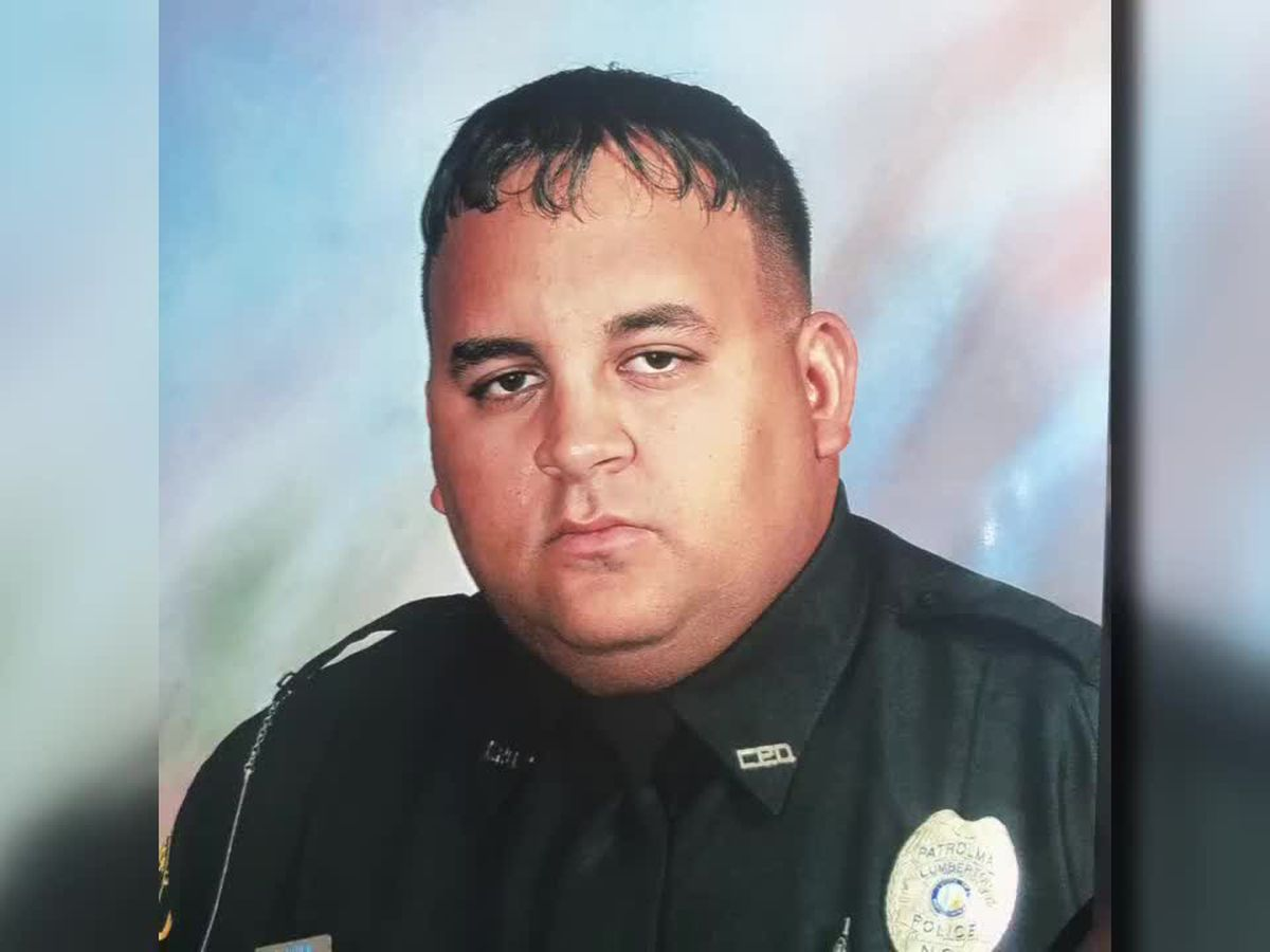 Fund established to assist family of fallen Lumberton police officer
