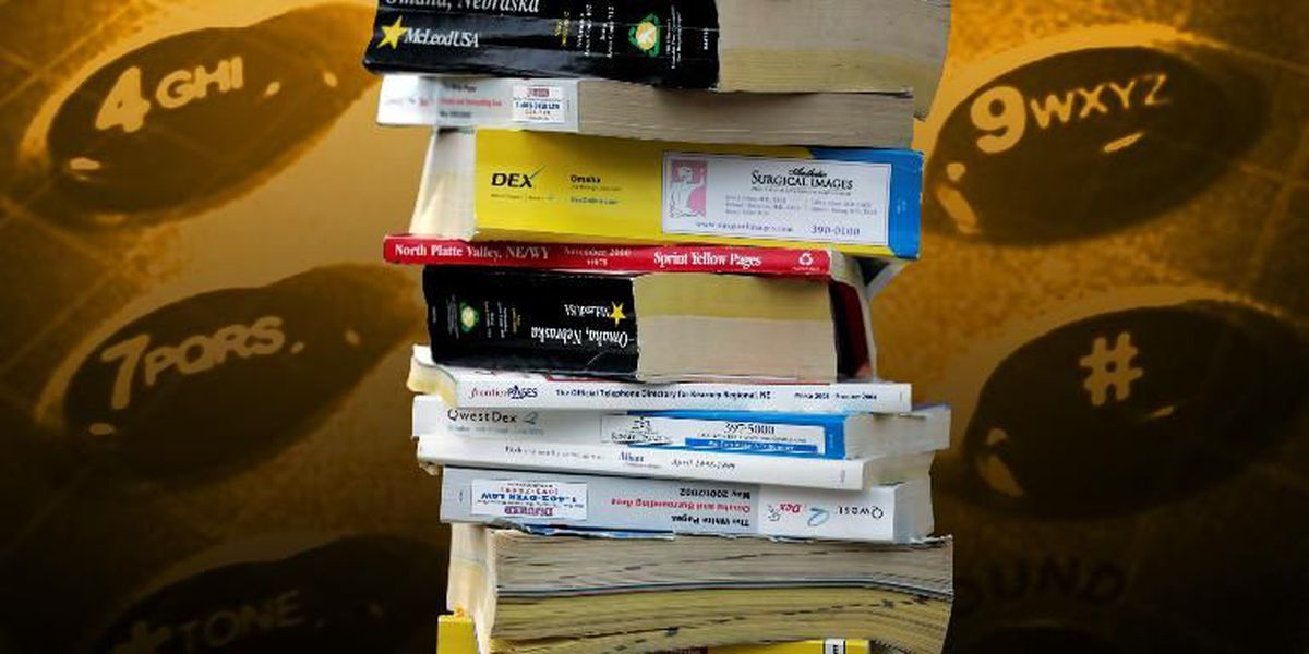 SC code of regulations requires that phone books still be printed