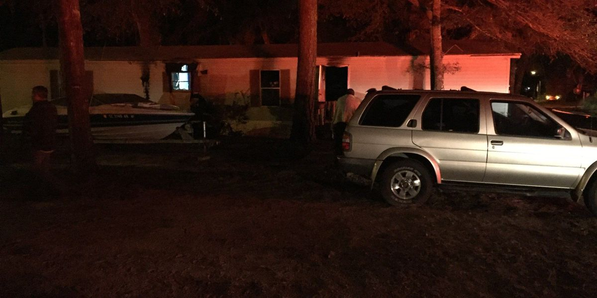 Crews respond to structure fire in Creekside community in North Myrtle Beach