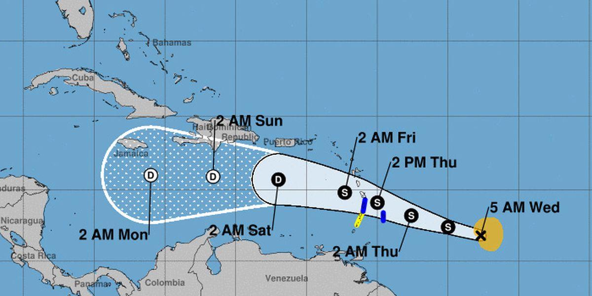 Tropical Storm Kirk reforms in Atlantic